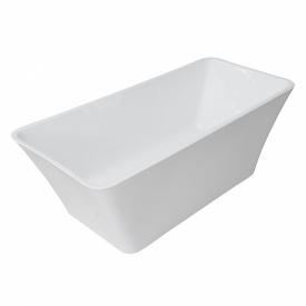 Ванна 170x75x60см отдельно стоящая акриловая с сифоном VOLLE 12-22-348
