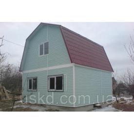 Дом с мансардой 65 м2