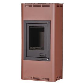 Отопительная печь-камин длительного горения AQUAFLAM 7 (водяной контур полуавтомат бронза)