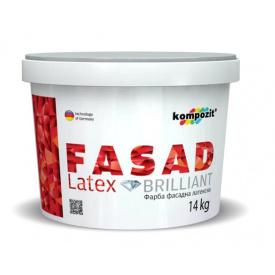 Краска фасадная FASAD Latex Композит 14 кг