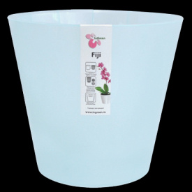Горшок для цветов Фиджи Орхид D 200 мм / 4 л голубой перламутровый