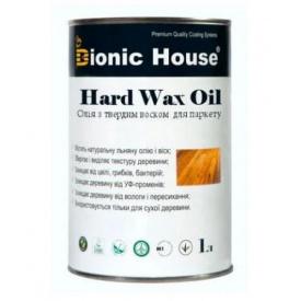 Масло с твердым воском Bionic-House для паркета Hard wax oil 1л