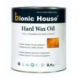 Масло с твердым воском Bionic-House для паркета Hard wax oil 2,8л