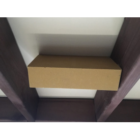 Гіперпресована цегла ECOBRICK гладкий 250х120х65 коричневий