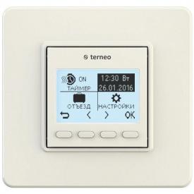 Терморегулятор для теплого пола terneo pro 16А 75 х 75 х 38 мм белый