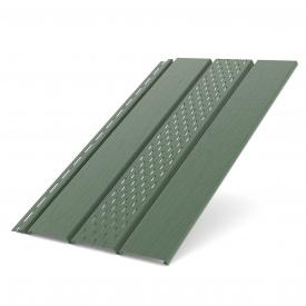Панель софит Bryza перфорированная Зеленый