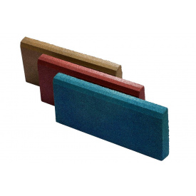 Резиновый бордюр RubCover 500х300х70 мм синий