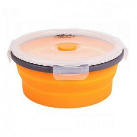 Контейнер складаний з кришкою-засувкою Tramp TRC-087-orange