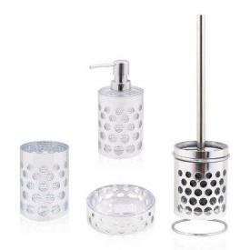 Trento Rotonda Silver комплект аксессуаров в ванную комнату