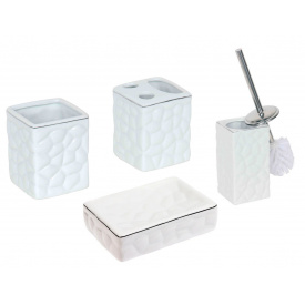 Комплект аксесуарів у ванну кімнату Trento Gio