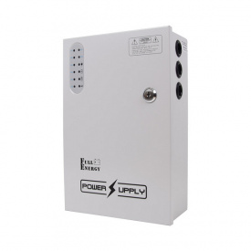 Блок бесперебойного питания BBG-1210/8 для видеонаблюдения 12В 10А под 18Ач аккумулятор