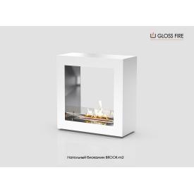 Напольный биокамин Brook-m2-300 Gloss Fire