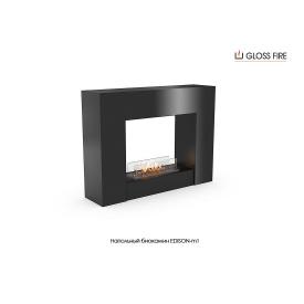 Напольный биокамин Edison-m1-300 Gloss Fire