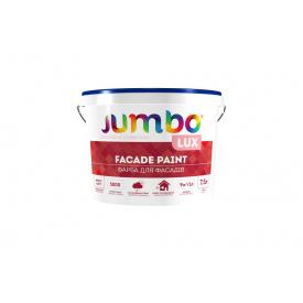Краска фасадная Jumbo Lux белая 15 л