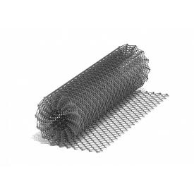 Сетка рабица оцинкованная 60x60x3мм