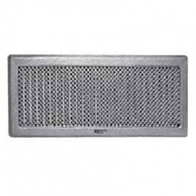 Вентиляційна решітка Рж5 195х485 срібло античне Darco