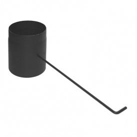 Шибер димохідний Darco 180 діаметр сталь 2,0 мм
