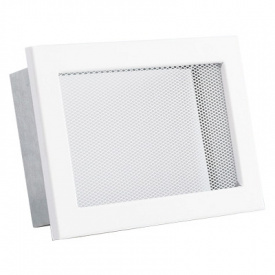 Вентиляционная решетка V с сеткой KRVSM 200х145 белая Ventlab