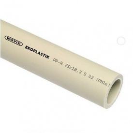 Труба EKOPLASTIK PN 20 Wavin 75 мм