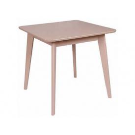 Деревянный стол Melitopol mebli раскладной Модерн квадратный 80х77х80 см бук натуральный