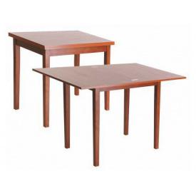 Деревянный стол Melitopol mebli раскладной Нордик 60х72,5х80 см бук натуральный