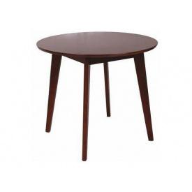 Деревянный стол Модерн круглый 77х90x90 см орех