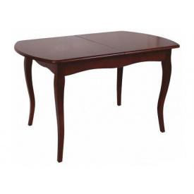 Дерев'яний стіл Melitopol mebli розкладний Прем'єр 80х77х130(170) см бук натуральний