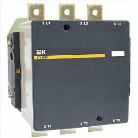 Силовий контактор КТИ-6500 500А ІЕК котушка 380В
