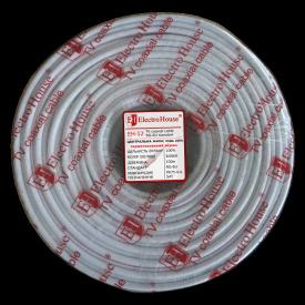 ElectroHouse Телевизионный (коаксиальный) кабель RG-6U EH-12.