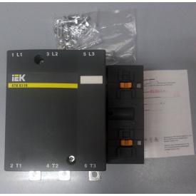 Силовой контактор КТИ-5265 265А ИЭК катушка 380В