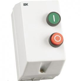 Контактор КМИ 11260 12А в оболочке Ue=220В/АС3 IP54 ИЭК