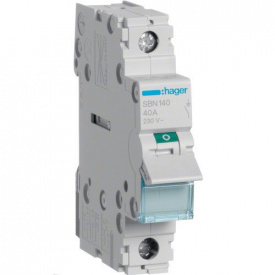 Вимикач навантаження 1p 40А SBN140 Hager