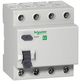 """Диференційний вимикач (ПЗВ) Easy9 4p, 40А, 30мА, тип """"АС"""""""