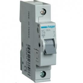 Автоматичний вимикач 16А З MC116A Hager