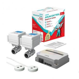 Система антипотоп з двома кульовими кранами Neptun Aquacontrol 1/2 220В