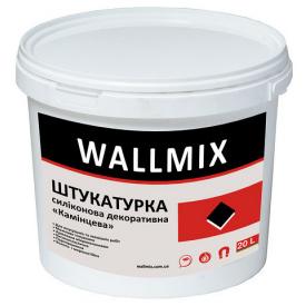 Штукатурка силиконовая декоративная камешковая Wallmix SК 7