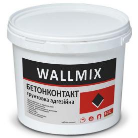 Грунтовка WALLMIX Бетонконтакт адгезіонна 10 L