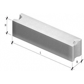 Фундаментный блок ФБС 9.4.3Т B7.5 880х400х580 мм