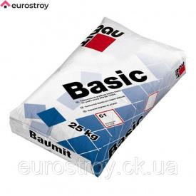 Клей для плитки внутренней и наружной Baumit Basic 25 кг 1/54