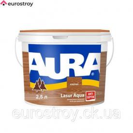Средство защиты для дерева Aura Lasur Aqua каштан 2,5 л