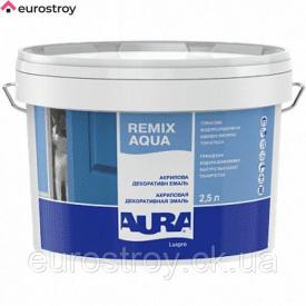 Эмаль акриловая Aura Luxpro Remix Aqua 70 глянцевая 2,5 л