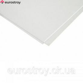 Плита металева білий мат 600х600 мм Euro