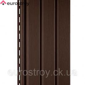 Софіт темно-коричневий неперфоровані Welltech С2 3,6x0,305
