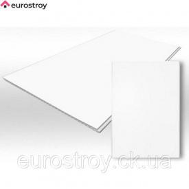 Панель ПВХ WELLTECH біла матова 10х100х6м Weltech