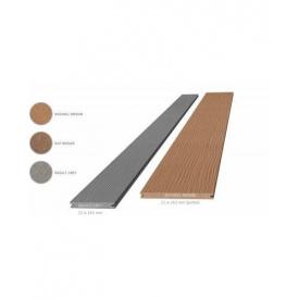 Террасная доска композитная Megawood Premium Jumbo 21x242x6000 шовная