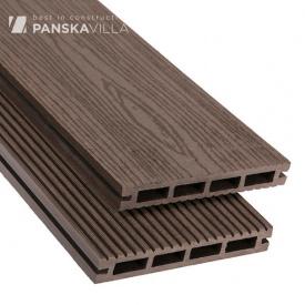 Террасная доска композитная Polymer Wood Privat 20x140x2200 (3000) шовная