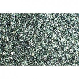 Декоративний камінь для стін галька Альпи 1-4 мм зелений