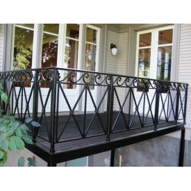 Виготовлення огорожі для балкона з металу