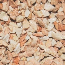 Мармурова крихта 12-16 мм коралова