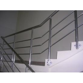 Виготовлення алюмінієвих перил для сходів